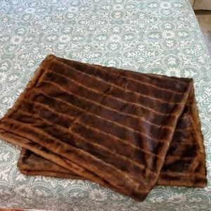 Other - Faux mink throw